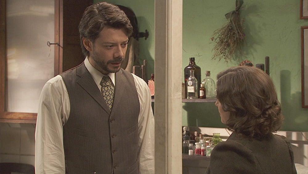 Lucas decide irse de Puente Viejo