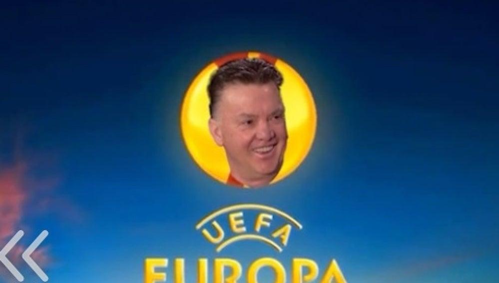 Van Gaal, a la Europa League
