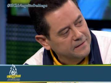 Tomás Roncero, en 'El Chiringuito de Jugones'.