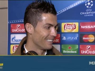 """Cristiano Ronaldo, en exclusiva: """"Estoy muy feliz en el Real Madrid""""."""