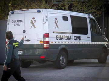 Imagen de un furgón de la Guardia Civil