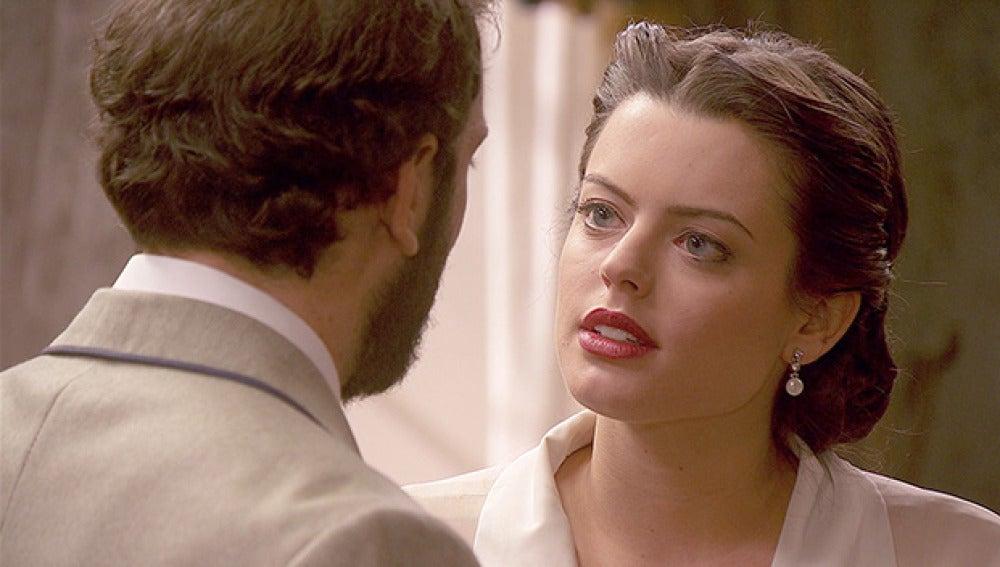 Sol le dice a Elisio que está dispuesta a arrebatarle la vida
