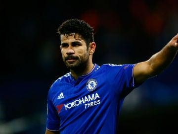Diego Costa, en Stamford Bridge