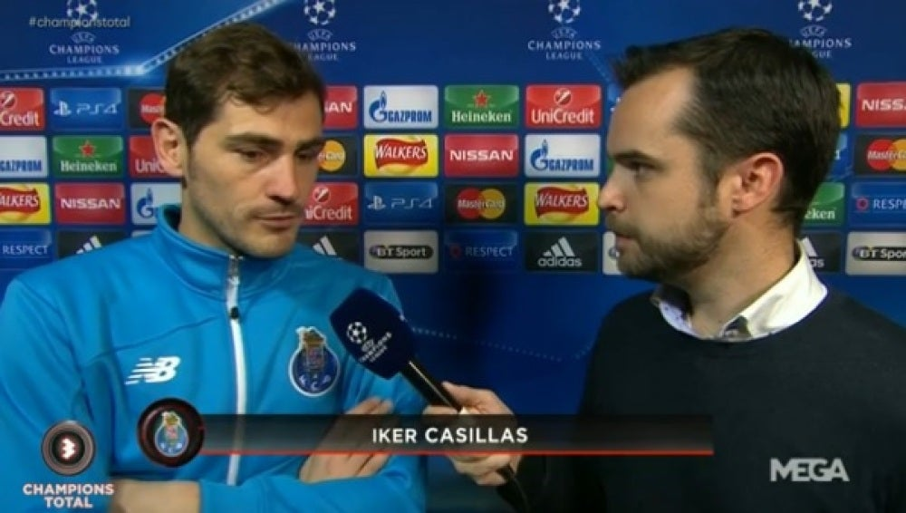 Iker Casillas, en Champions Total