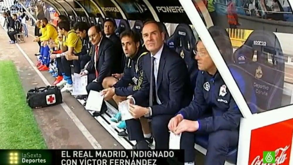 Víctor Fernández, responsable del cantera del Real Madrid