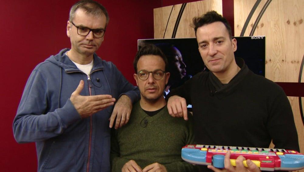 Arnau Vilà, Àngel Llàcer y Pablo Puyol