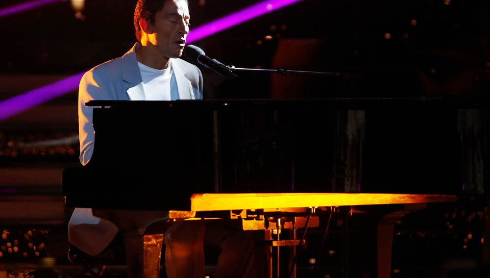 Pablo Puyol conmueve al jurado cantando 'All of me' de John Legend