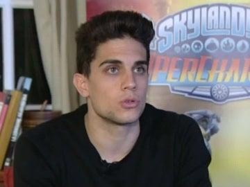 Marc Bartra, durante la entrevista