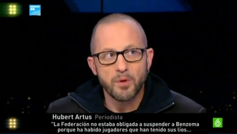 Periodista francés opina sobre Benzema