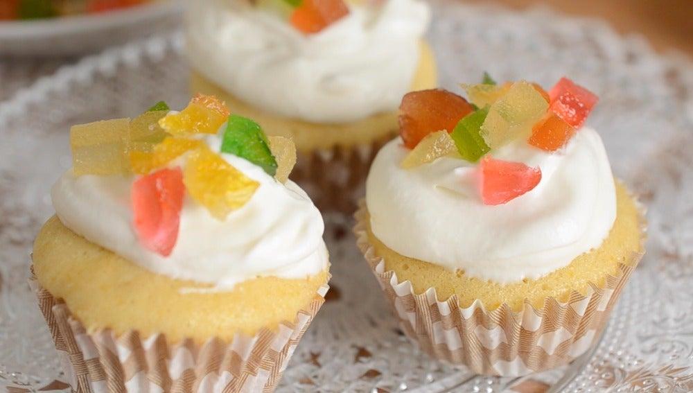 panetone cupcake