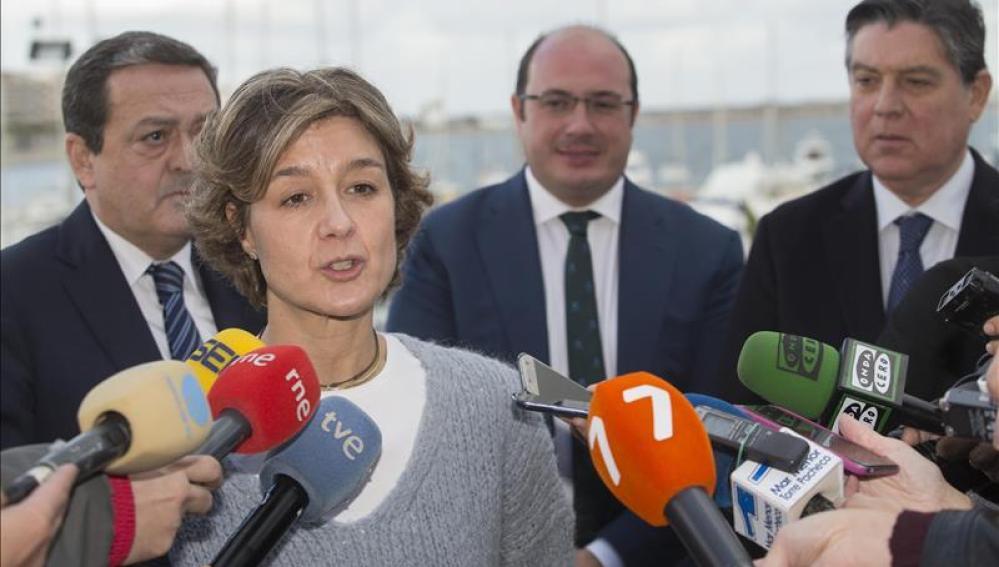 Isabel García Tejerina, ministra española de Medio Ambiente