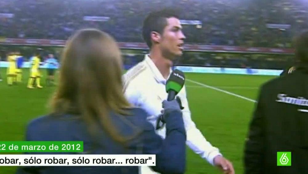 """Cristiano Ronaldo: """"Solo robar"""""""