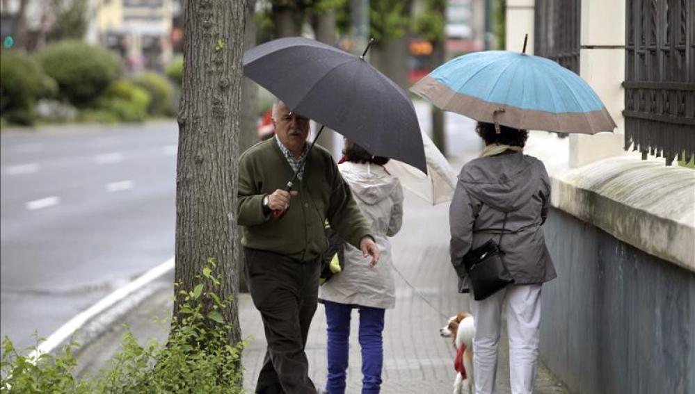 Lluvia en A Coruña