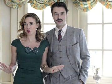 Clara y Mateo, contentos y nerviosos ante su inminente boda