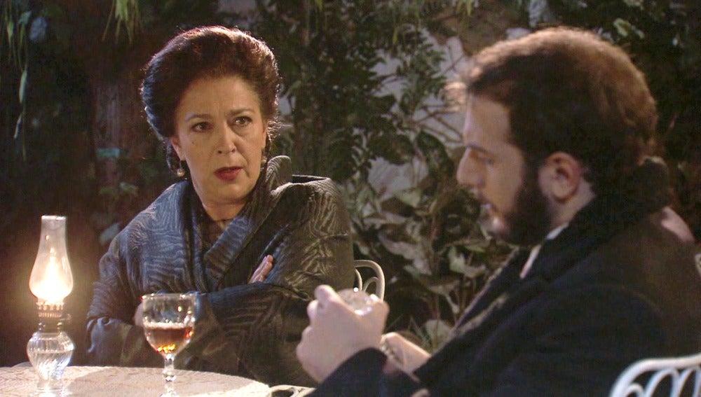 Francisca aconseja Eliseo su próximo movimiento contra Severo