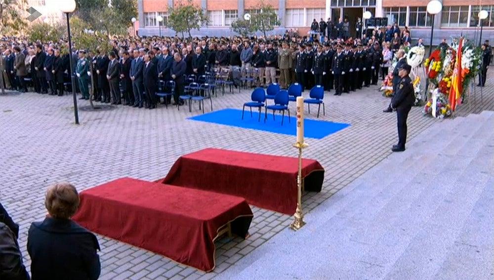 Funeral de Estado de los dos agentes fallecidos en Kabul