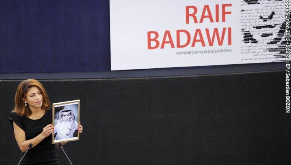 Raif Badawi, la mujer del bloguero saudí