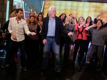 Richard Gere con el público