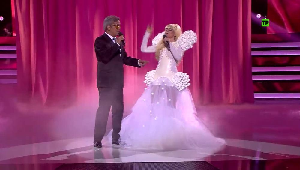 Andreu Buenafuente y Silvia Abril imitan a Tony Bennett y Lady Gaga