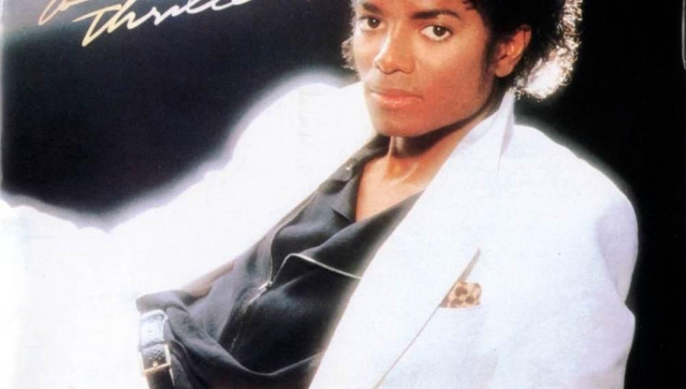 Portada del disco 'Thriller' de Michael Jackson