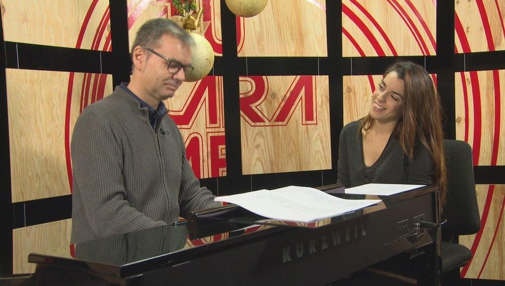 Arnau Vilà y Ruth Lorenzo