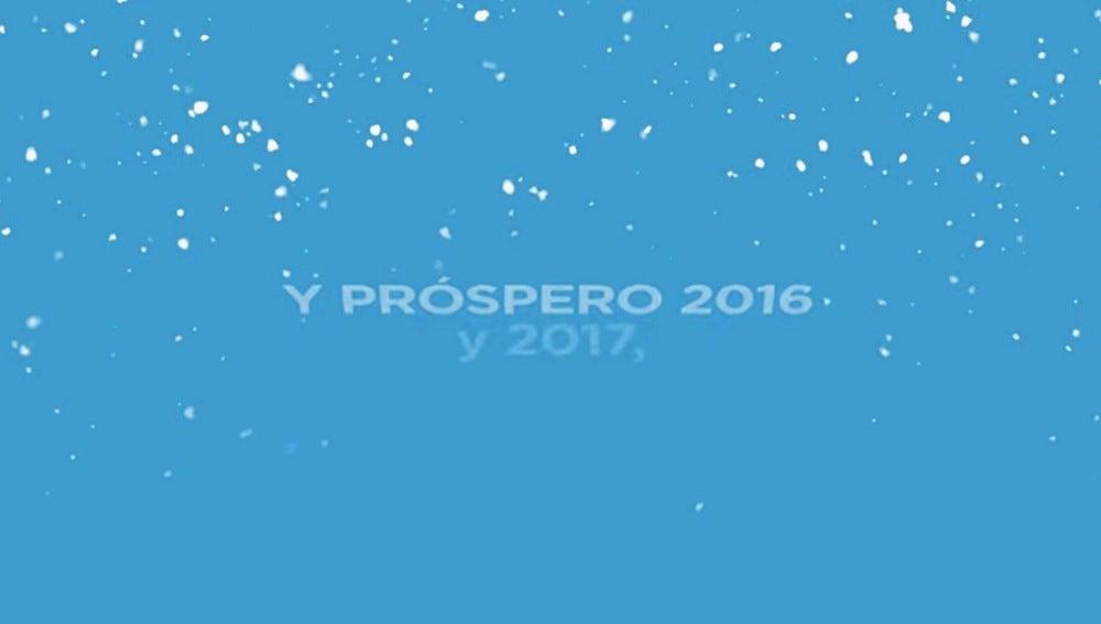"""El PP desea un """"próspero 2016, y 2017..."""""""
