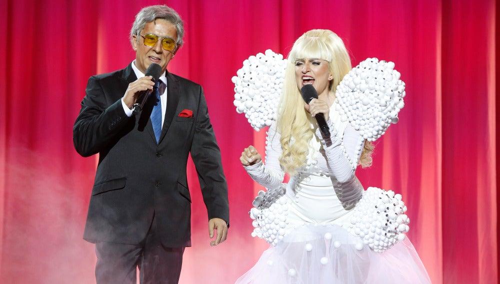 Silvia Abril y Andreu Buenafuente son Lady Gaga y Toni Bennet