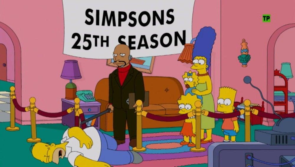 Los Simpson también celebran la Navidad en Antena 3
