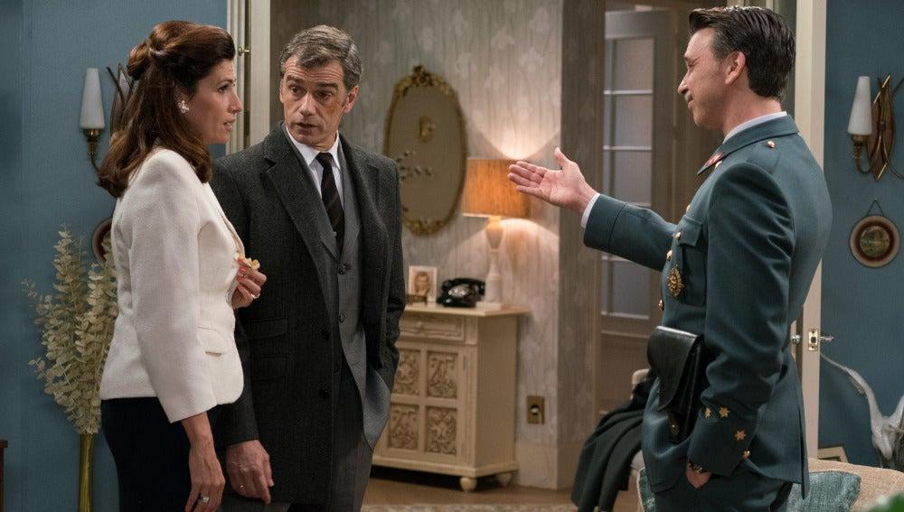 Adela, Eugenio y Tomás