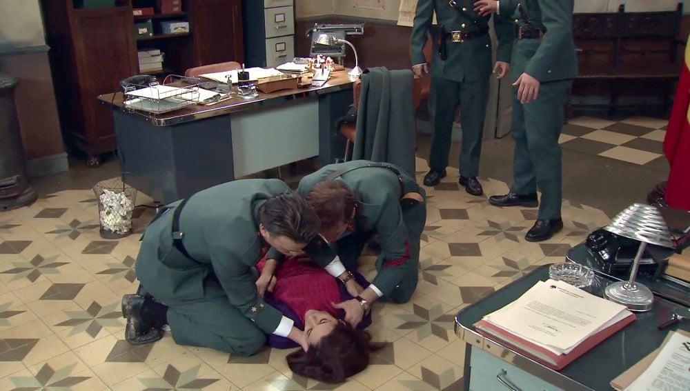 Sofía sufre un nuevo desmayo
