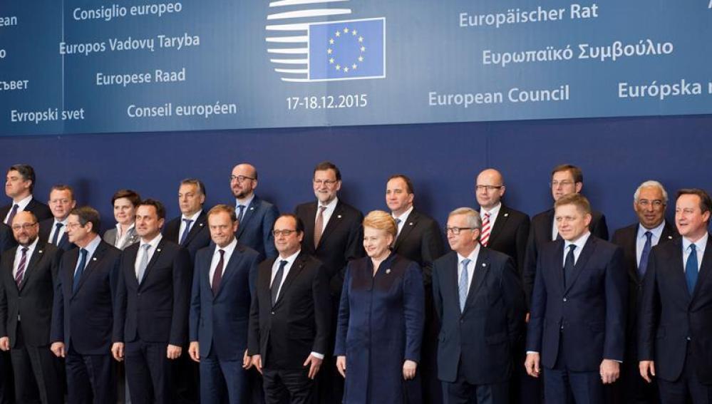 Cumbre de jefes de Estado y de Gobierno de la UE