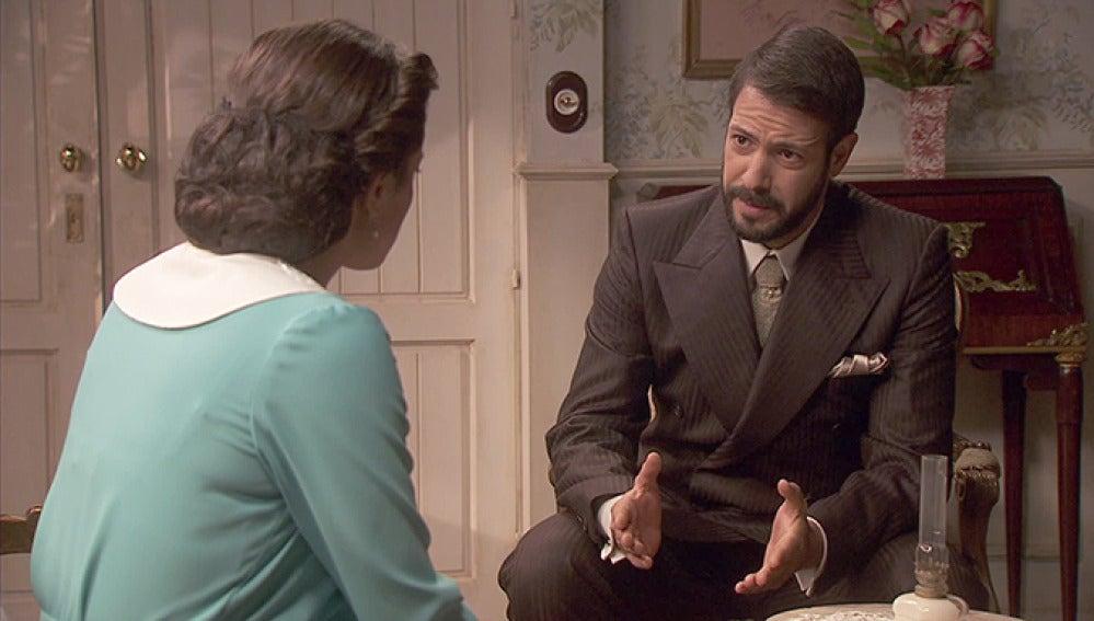 """Puente Viejo C1225 - Severo a Sol: """"Si no controlas a tu marido tendrás que marcharte de La Quinta con él"""""""