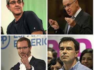 Algunos de los Diputados que no estarán en el Parlamento durante la próxima legislatura