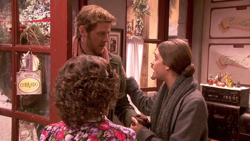 Mariana le oculta a Nicolás la idea de abrir una tienda con Gracia