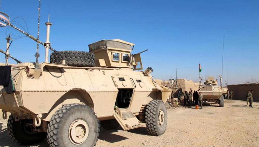 Coche blindado en Afganistán