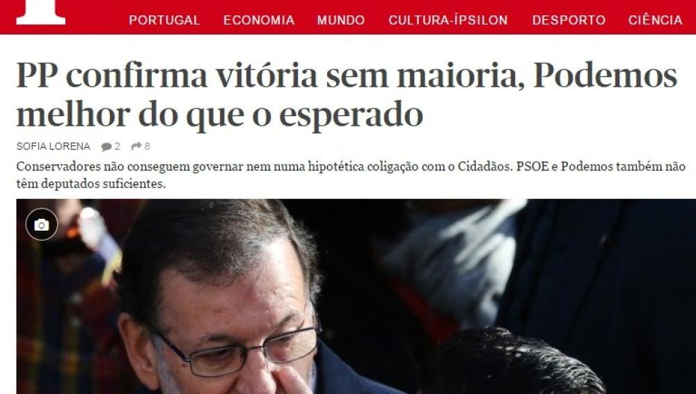 Diario Publico, de Portugal