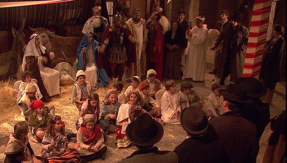 Los vecinos de Puente Viejo celebran la Nochebuena