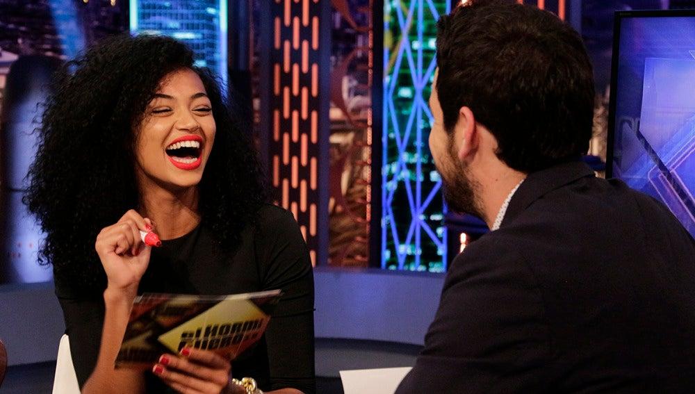 Mario Casas y Berta Vázquez en 'El Hormiguero 3.0'