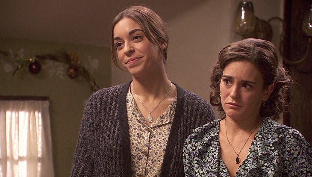Gracia y Mariana confiesan a Emilia cuál es su proyecto