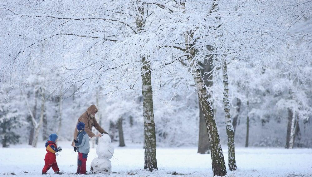 Imagen típica del invierno