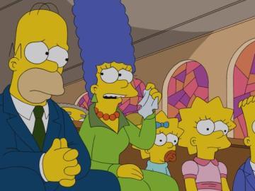 Los Simpson C533 'Cuatro lamentos y un funeral'