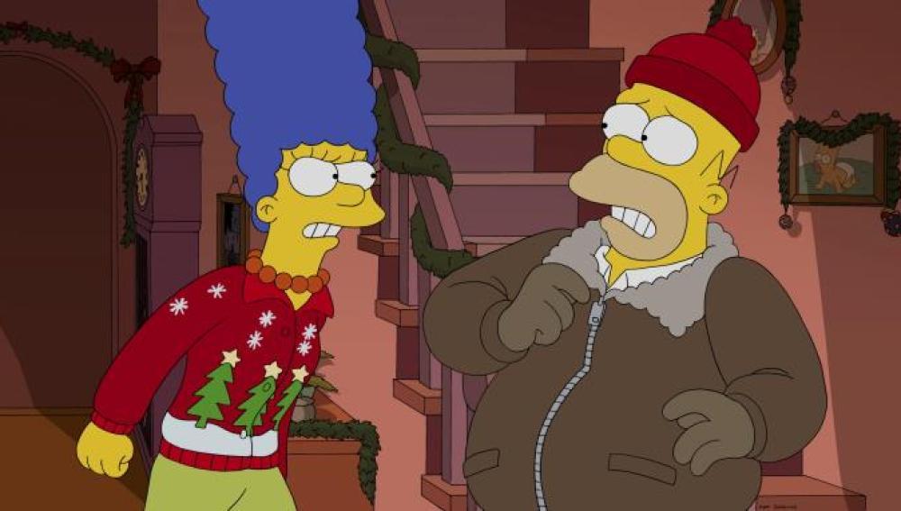 Los Simpson C561 'No estaré en casa por Navidad'
