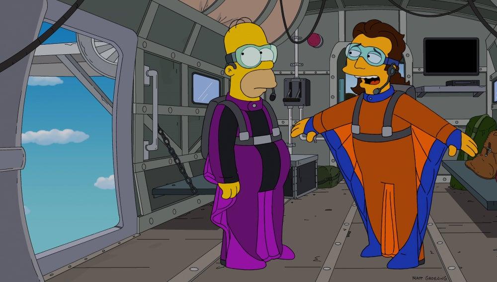Los Simpson C534 'Sólo se vive una vez'