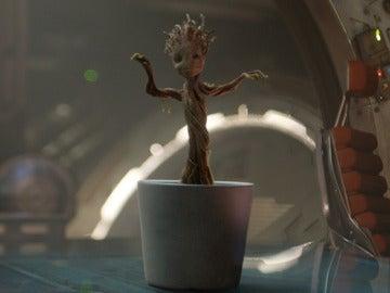 Baby Groot en 'Guardianes de la Galaxia'