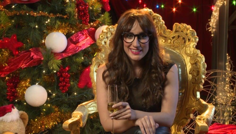 Ana Morgade felicita la Navidad en 'Tu cara me suena'