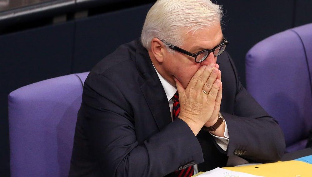 Ministro alemán de Exteriores, Frank-Walter Steinmeier