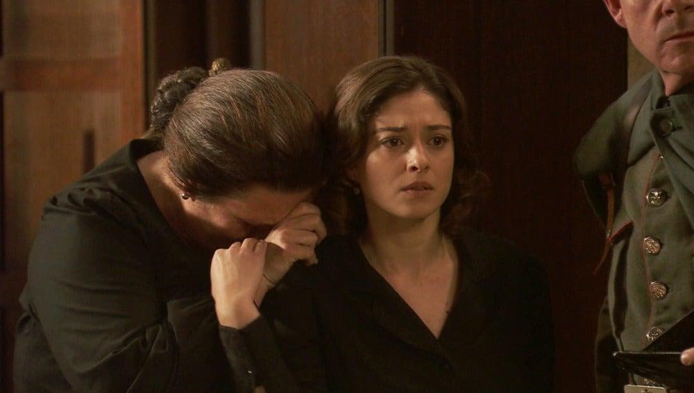 Francisca ignora el último deseo de Bosco y se lleva a Beltrán