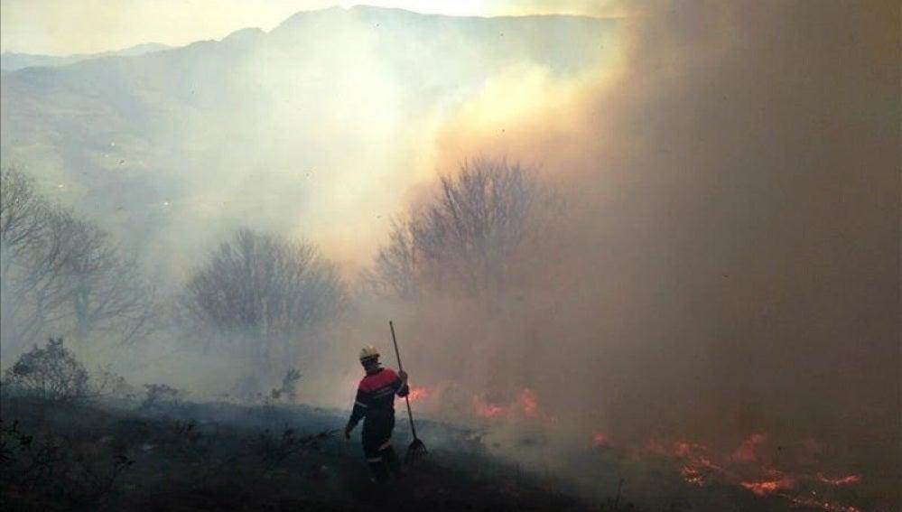 Incendios en el norte