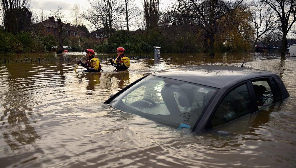 Inundaciones en el norte de Inglaterra