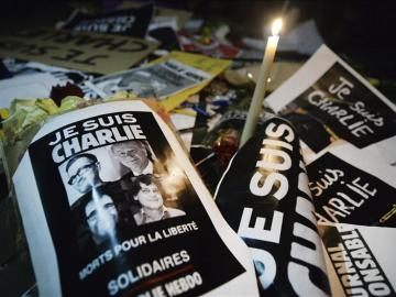 En el atentado contra Charile Hebdo murieron doce personas, diez de ellos periodistas.